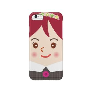 スマホに住んでるスマ子01 Smartphone cases