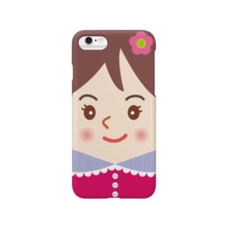 スマホに住んでるスマ子02 Smartphone cases