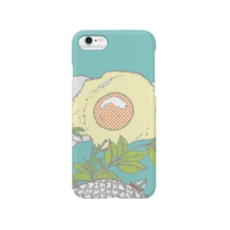 morningめだまやき Smartphone cases