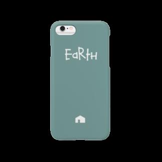 ねこののEarth Smartphone cases