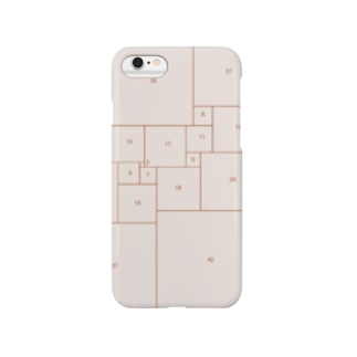 四角形(仮) Smartphone cases