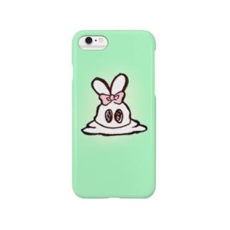 とろけうさぎ Smartphone cases