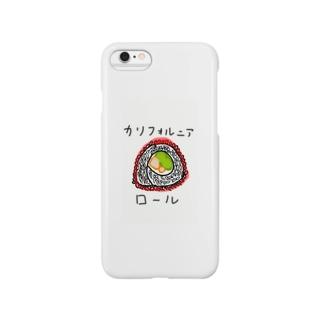 カリフォルニアロール Smartphone cases