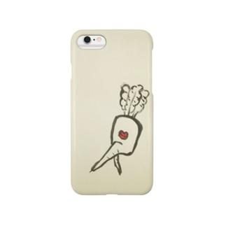 ふたまた大根 Smartphone cases