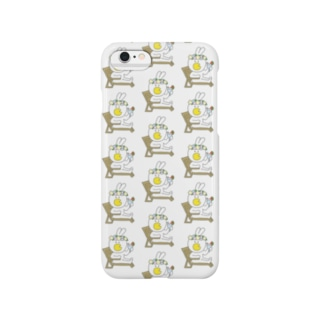 *★うさかっぱ~バカンス~白★* Smartphone cases