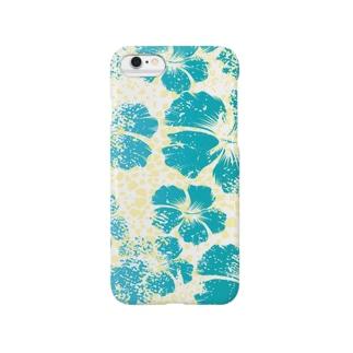 leopard*hibiscus Smartphone cases
