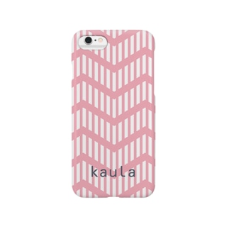 kaula_zigzag01(pink) Smartphone cases