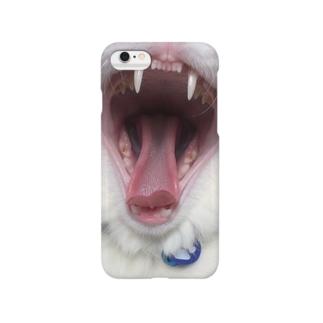 猫のキバ Smartphone cases