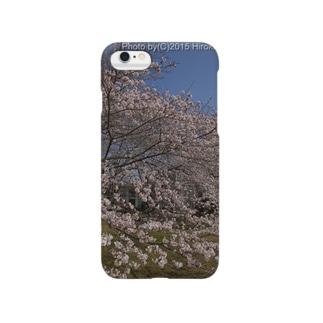 満開の桜 Smartphone cases