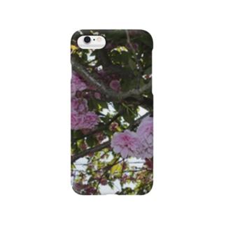 残った桜 Smartphone cases