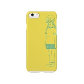眼鏡ちゃん Smartphone cases
