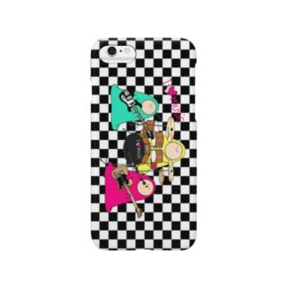 I LOVE MUSIC - アイラヴミュージック バンドVer. Smartphone cases