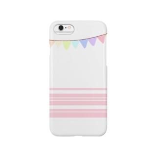 虹色フラグ Smartphone cases