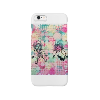 ラブラブ Smartphone cases