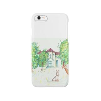 教会の動物たち Smartphone cases