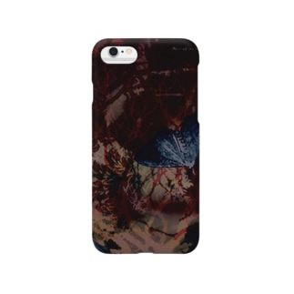 Blur of the moth./暈やけた訪れ Smartphone cases