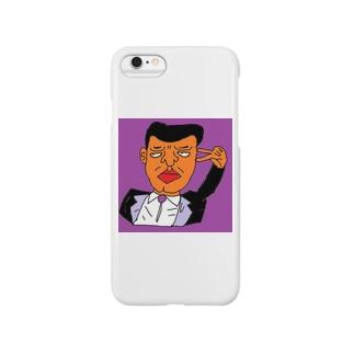 ディーセント・ワーク商店(人間らしい働き甲斐のある仕事)の紳士の立ち振る舞い Smartphone cases
