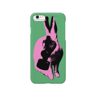 Collage Art Rabbit #2 スマートフォンケース