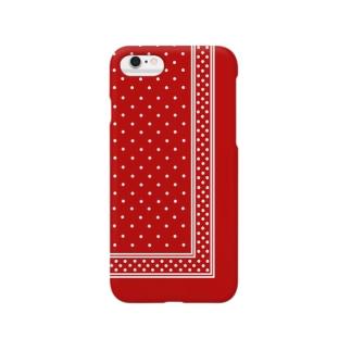 garyu_by_HiRiver_Designのロンドンポルカドットredver.2 Smartphone cases