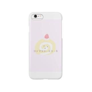 ロックンロールケーキ Smartphone cases