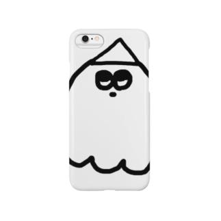 おばけくん Smartphone cases