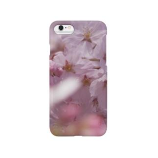 桜 サクラ cherry blossom DATA_P_091 スマートフォンケース