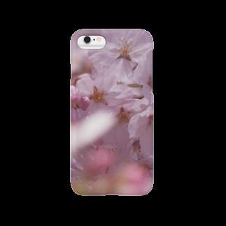 hiroki-naraの桜 サクラ cherry blossom DATA_P_091スマートフォンケース