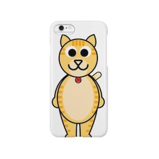 茶トラ猫のミルク Smartphone cases