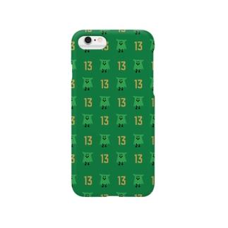 ピタロウのモンスティスくんパターン13 Smartphone cases