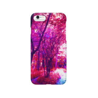 MMD 山田淀子のピンクの森 Smartphone cases