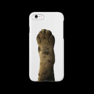 しじみ週間の猫の手 Smartphone cases
