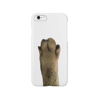 猫の足 Smartphone cases