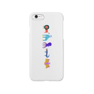 アニマルズFIVE Smartphone cases