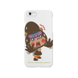 """ぽっこりゴリラ""""ビックリ"""" Smartphone cases"""