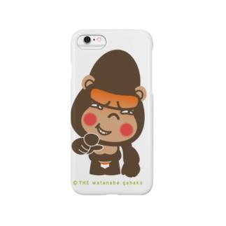 """ぽっこりゴリラ""""嘲笑"""" Smartphone cases"""