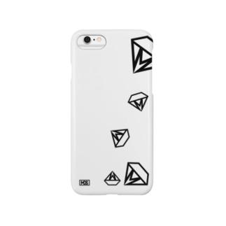 MDSロゴ(drop) Smartphone cases
