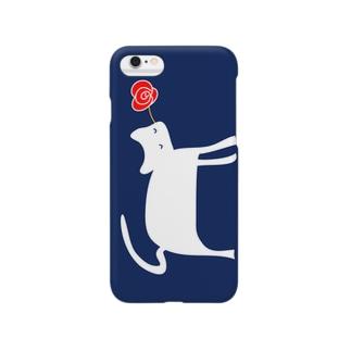 バラ、プレゼント Smartphone cases