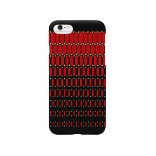 エルビスドットred Smartphone cases
