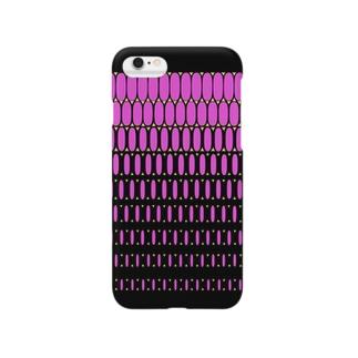 エルビスドットpink Smartphone cases