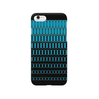 エルビスドット blue Smartphone cases