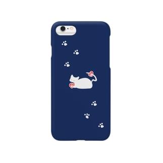 大切な花navy Smartphone cases