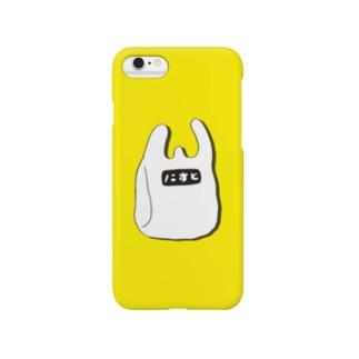 レジ袋 Smartphone cases