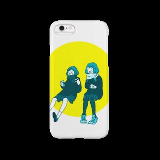 マキノノマの談笑ガールズ Smartphone cases