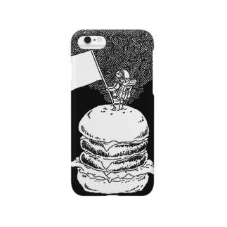 ハンバーガーiPhoneケース Smartphone cases