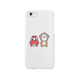 猿と蟹 Smartphone Case