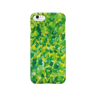 【GREEN×YELLOW】 Smartphone cases