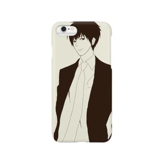 スーツ男子 Smartphone cases