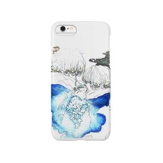 藍茉莉花 Smartphone cases