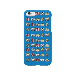 北海道プロレス(フェイス) Smartphone cases