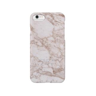 stones-brownmarble Smartphone cases